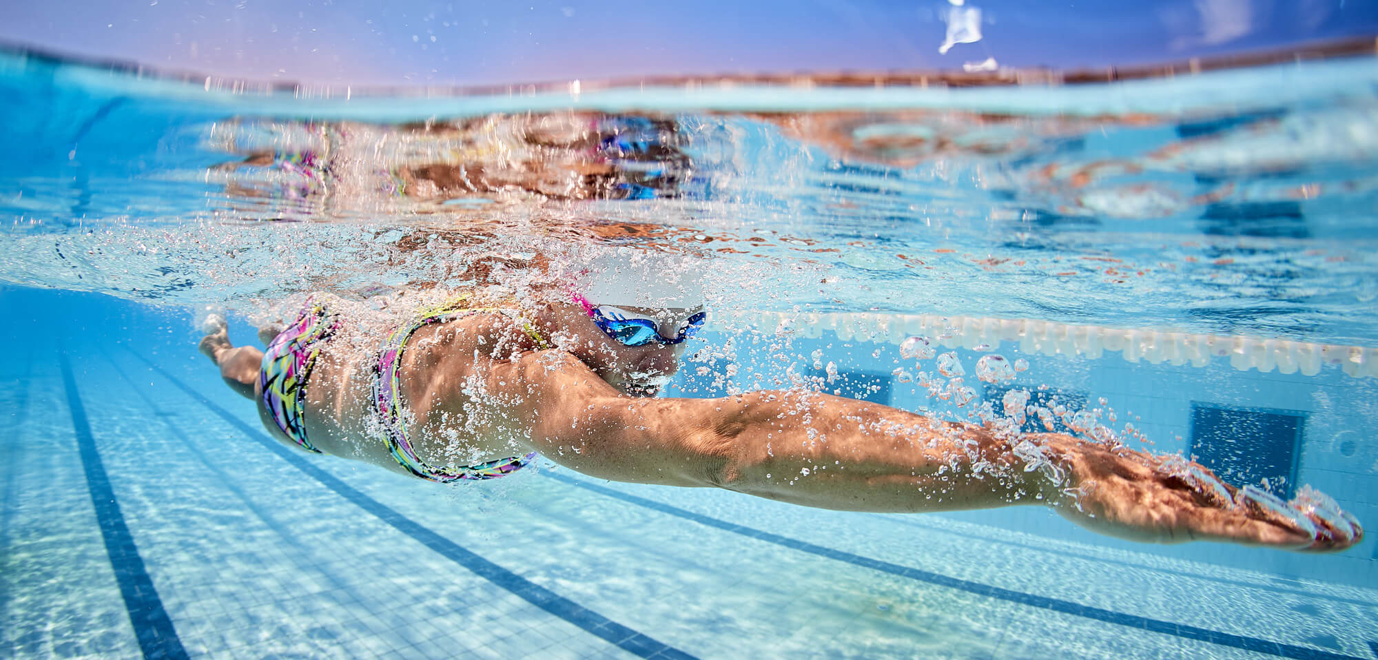 Anja Beranek - Triathletin - Swimming