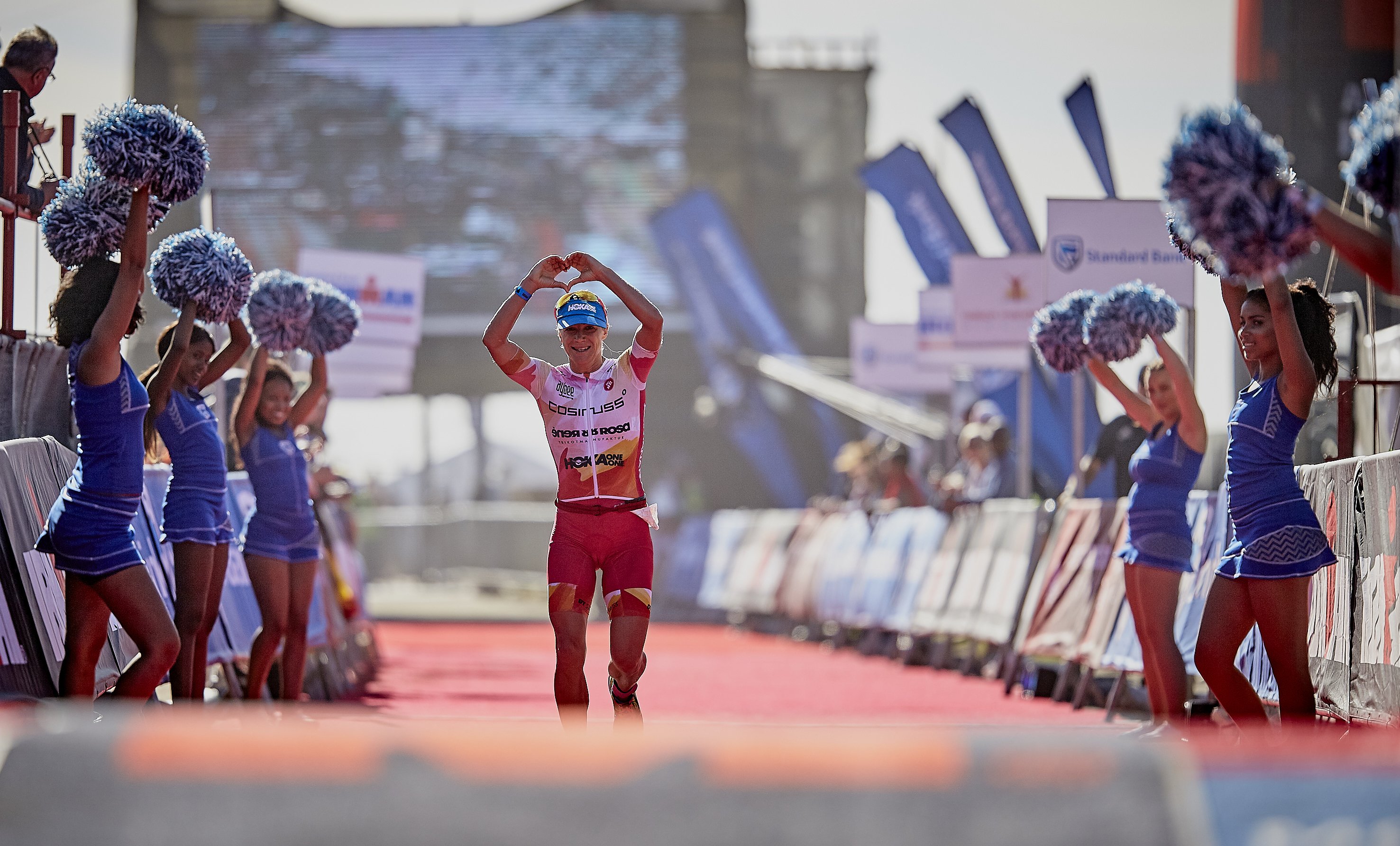 Ironman South Africa - Running down the red carpet
