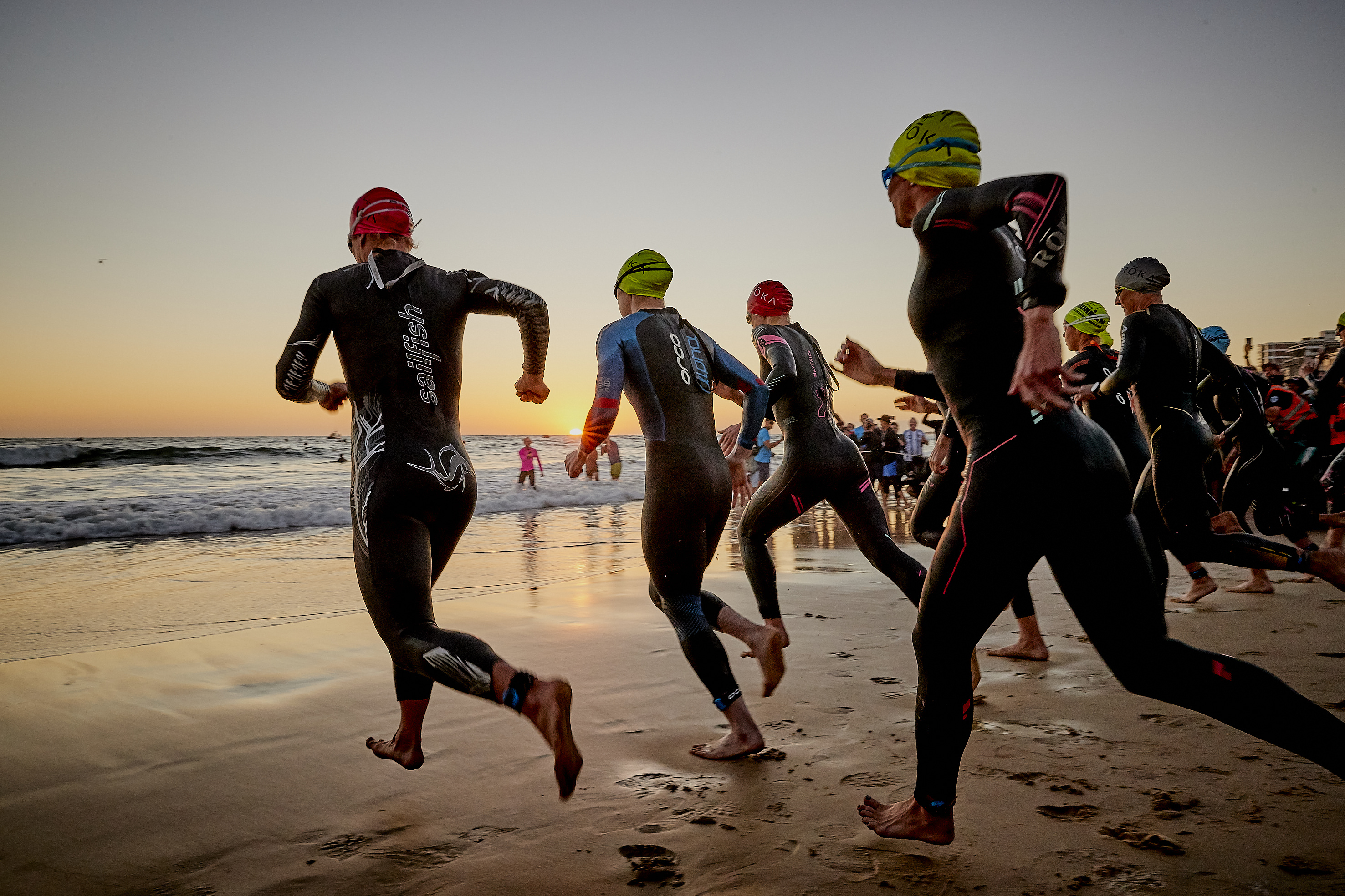 Ironman South Africa Swim Start