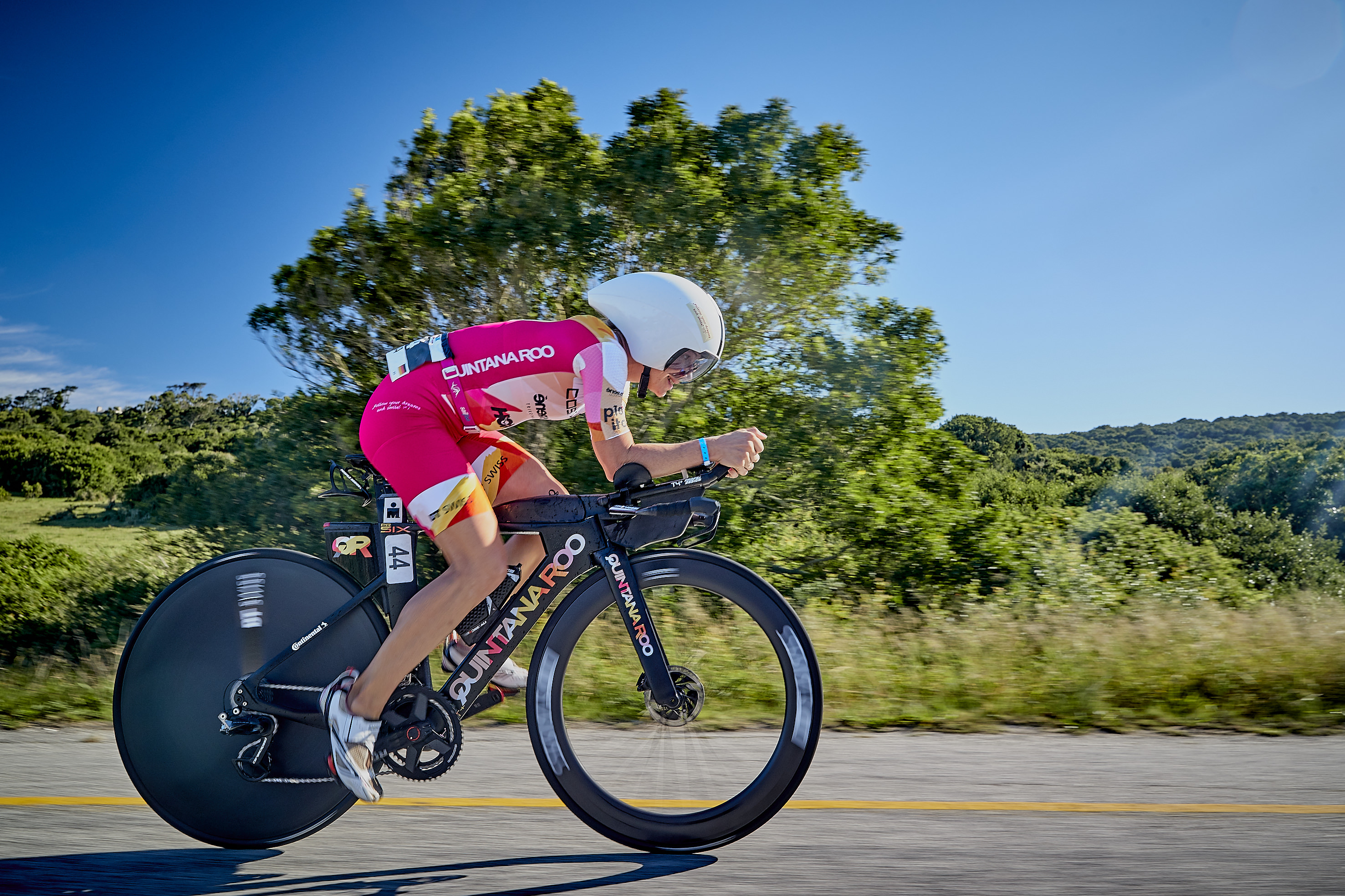 Ironman South Africa - leading the bike