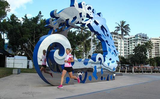 Anja Beranek Cairns IRONMAN triathlete