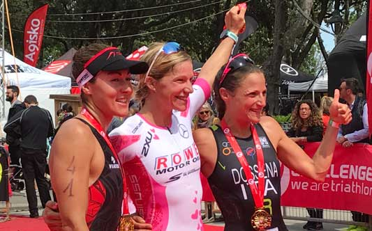 Anja Beranek, winner of the Challenge Rimini