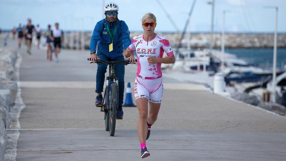 Anja Beranek Triathletin Ironman Marbella